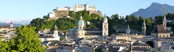 Stadtpanorama Salzburg